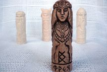 Slavic Wooden Handmade / Slavic Symbols,Slavic Dieties,Sculptures,Necklaces,Keepsakes etc.
