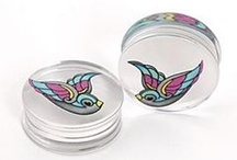 Gauges, tapers, & plugs / by Nicole St Marie