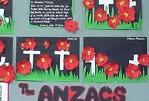 school: theme - anzac day