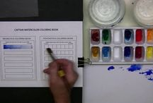 Watercolor Tutorials / Step by step watercolor lessons of animals, botanicals, and more!