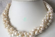Pearls & Lace...*le sigh* / In my book there is nothing more feminine than a glimpse of lace and a dainty strand of pearls. / by Sara Littlefield
