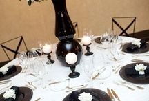 Black and White Weddings / Looking for a classic color palette for your big day!  Black and white never goes out of style!  Take a look at the fun ways to showcase this color combo!