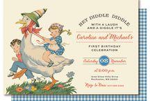 Nursery rhyme/storybook first birthday