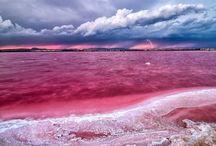 Lago Retba, o Lago Rosa
