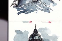 Various sketching ideas