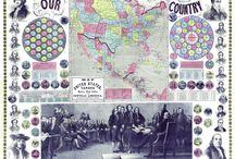 Vintage U.S. Maps