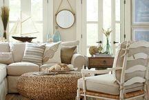 In the Living Room / Living room decor + inspo
