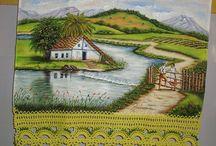 Pinturas Paisagem