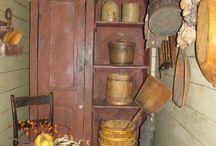 Antiques, primitives, and vintage ❤