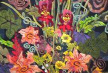 Flower quilts & tutorials