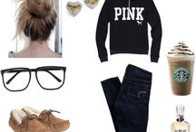 Lazy college outfits / by Jacqueline Holguin