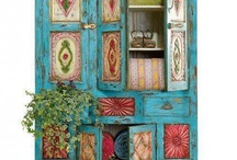 Revamping storage / Ideas for up cycling old cupboards and storage units