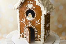 Perník Gingerbread / perník, vánoční perníčky, perníkové chaloupky, perníkové domečky,