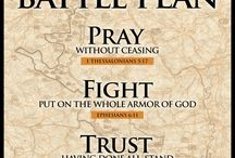 The fight is not against flesh and blood...