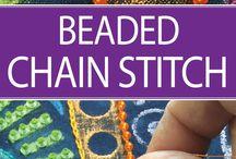 beaded stitch