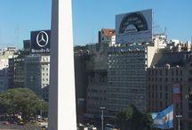 Buenos Aires / Plazas, monumentos y edificios mas destacados.