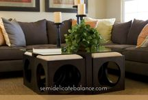 Home Decor The Military Way / Decorations and ideas for making military & rental housing feel like a home.