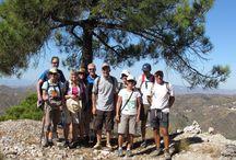 Cerro Lucero / Caminar desde Posada la Plaza en La Sierra de Tejeda y Almijara al Cerro Lucero
