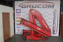 Used knuckle boom crane Amco veba V814 2S / Knuckle Boom Loader Cranes for Sale