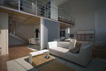 Loft in Milano / creazione di immagini per commercializzazione immobile