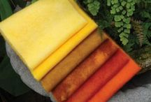 Wools / New brightly colored wool fabric / by Material Mart
