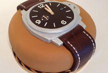 Tort zegarek