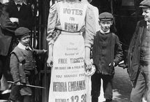 Woman's Day - Suffragettes / Read related post at http://www.aheadfullofpin.com/2016/03/womans-day-suffragette.html