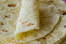 Burritos, Tortillas and quesadillas