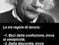 Einstein e le sue perle di saggezza