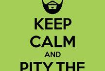 "Keep Calm shirts / Coole en originele shirts met de alom bekende ""Keep Calm and..."" tekst."