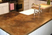 Counter tops / by Carol Ann Hayes
