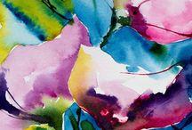 Watercolour / akwarele, które przyciągają moją uwagę
