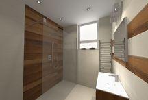 Bathroom ceramic design / Látványtervek