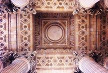Plafonds de Paris / pendant mon an je veux photografer beacoup de plafonds à Paris