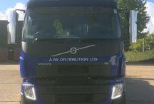 AJW Distribution Vehicles