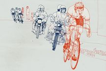 Arty cycle bits / Some artwork with themes pertaining to cycling. Think of it as one of our other folders only with pictures and no words