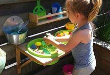 Детская кухня на улице