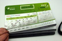 Calendarios personalizados / Ideas de calendarios para su uso como articulo publicitario