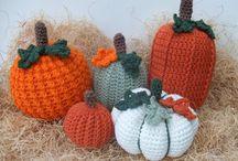 Fall Crochet Patterns / Crochet patterns for Fall and Autumn; Fall Home Decor Crochet Patterns, Pumpkin Afghan Crochet Pattern, Pumpkin Crochet Patterns
