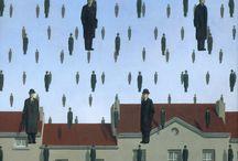 Rene Magritte i kapelusze