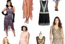 Flapper dress.