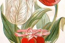 Fleurs personnifiées