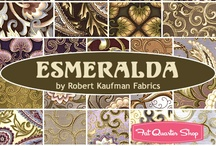 "Esmeralda by Robert Kaufman / Robert Kaufman Fabrics - ""Esmeralda"" Collection"