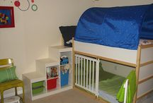 Bunk bed makeover