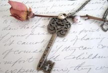Skeleton Keys. / I have a love for old skeleton keys and own a pretty large collection of them. Some creative keys I have found here: / by Amanda King