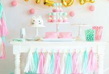 Baby birthday decoration