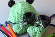 Botes verd poma amb gorra