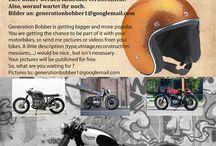 Your motorbike on Generation Bobber