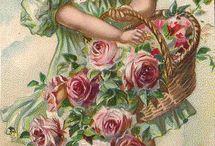 Vintage kaarten / Romantische kaarten.