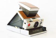 Vintage Polaroid Instant Film Cameras / Polaroid Land Cameras / by Utah Film Photography